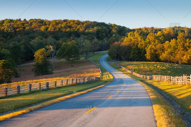 Doughton Park, Blue Ridge Parkway, North Carolina, USA