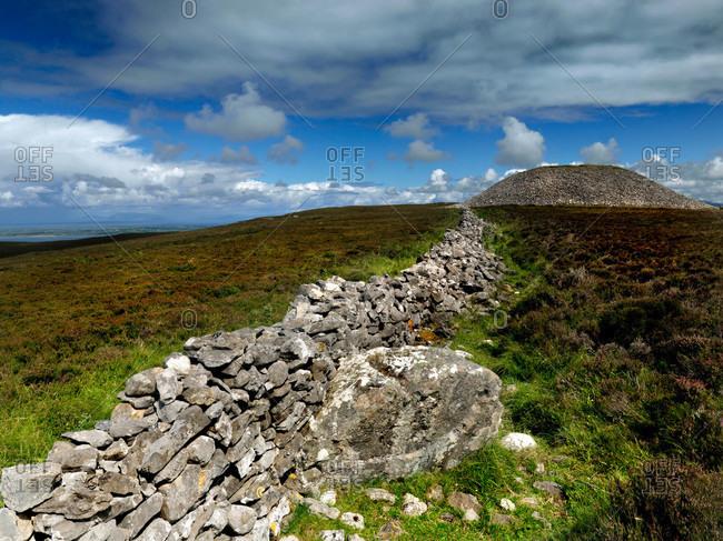 Queen Maeve's Cairn on Sligo Moutntain in Knocknarea