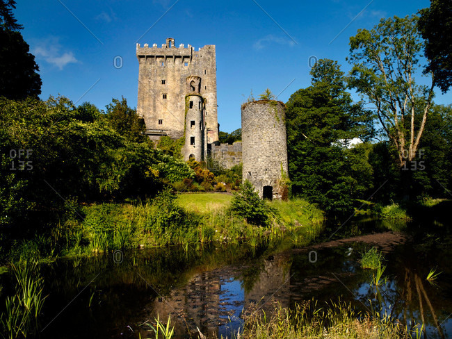 Blarney Castle which houses the famous Blarney Stone in County Cork