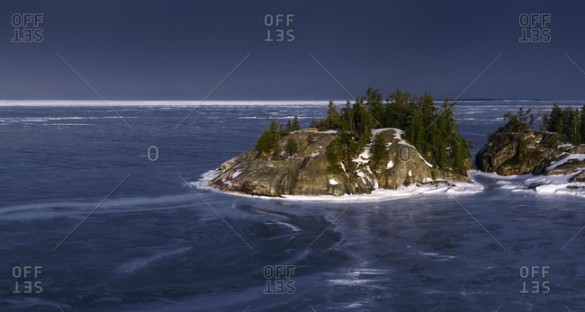 Islands In Middle Of Lake Superior