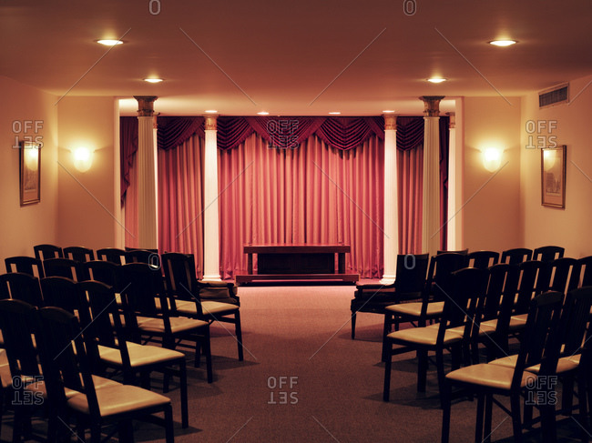 Funeral Home Chairs  funeral home stock photos   OFFSET. Funeral Home Chairs. Home Design Ideas