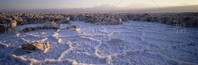 Landscape Of Salt Lake
