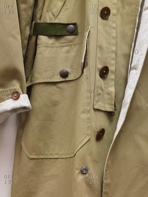 Closeup of jacket