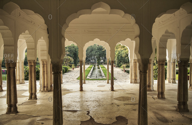 Scalloped Archways in an Indian Palace