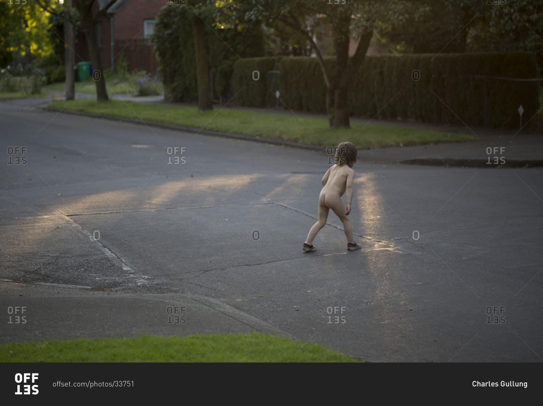 Naked little