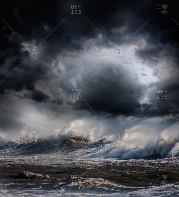 Stormy Sea and sky