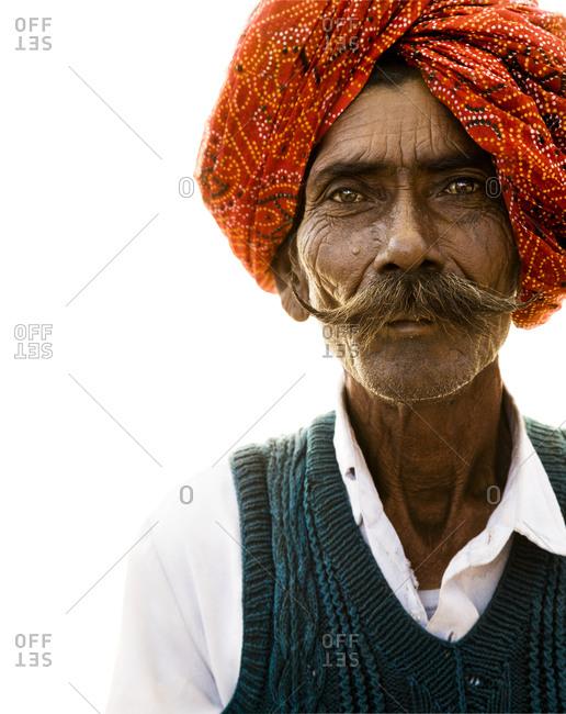 Portrait of a sikh man