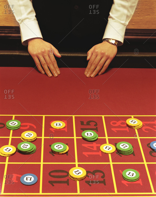 Roulette stock photos offset for Html table inside th