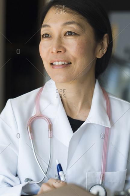 Japanese female doctor