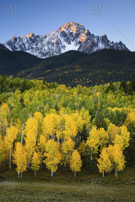 Autumn Sunrise on Mount Sneffels