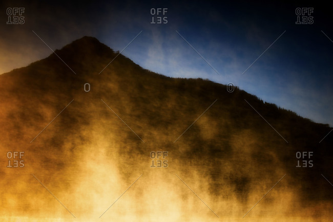 Colorado crested butte abstract