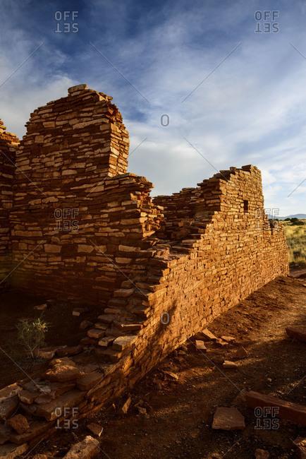 Lomaki Pueblo at Wupatki National Monument in northern Arizona