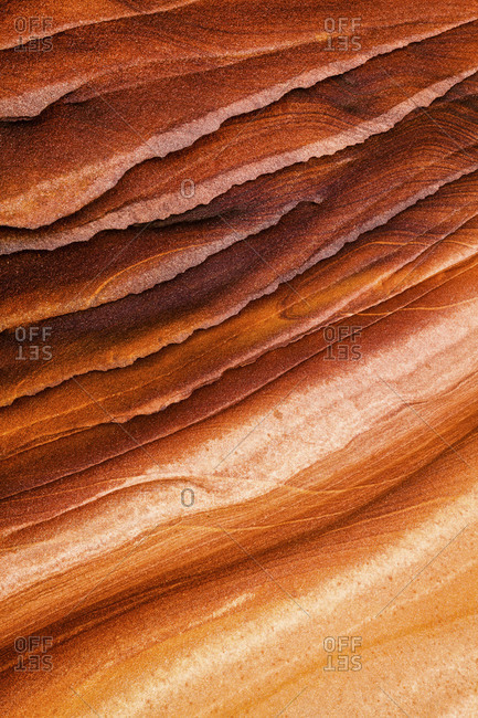 Countless years of erosion have sculpted the Wave Coyote Buttes North permit area, Vermilion Cliffs National Monument in Arizona