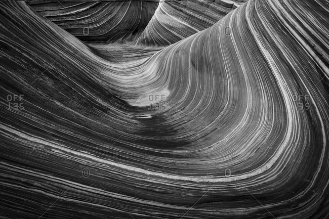 Swirling Sandstone, The Wave, Coyote Buttes North, Arizona