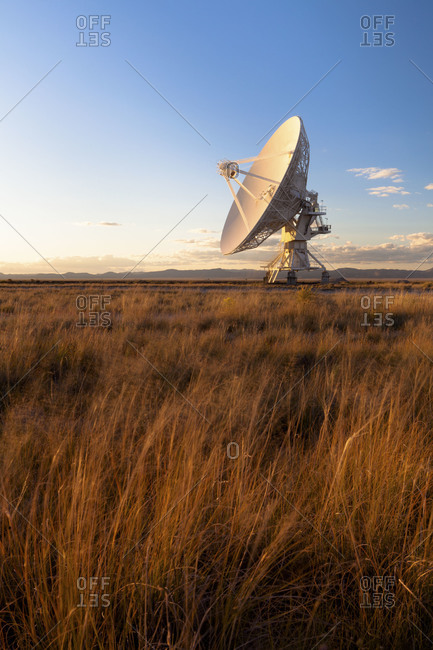 The Very Large Array on The Plains of San Agustin southwestern New Mexico