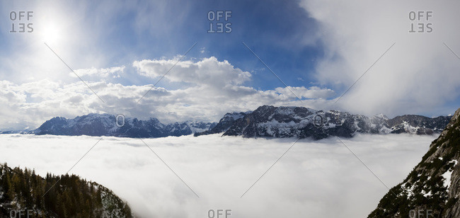 View of the Eisriesenwelt