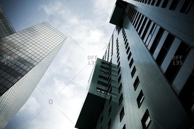 Austria, Vienna, Wienerberg City, View of architecture against sky