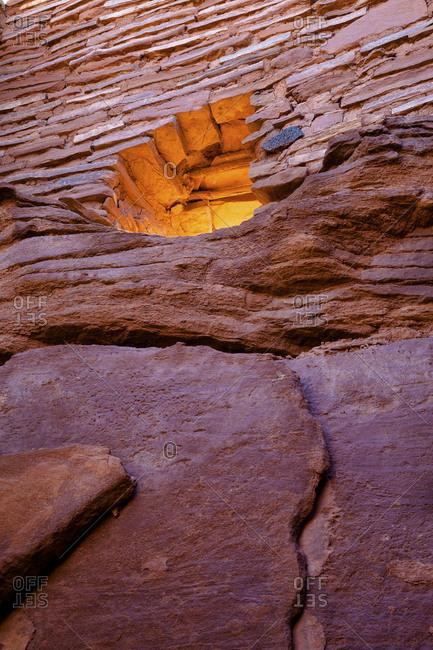 Wupatki Pueblo ruins at Wupatki National Monument
