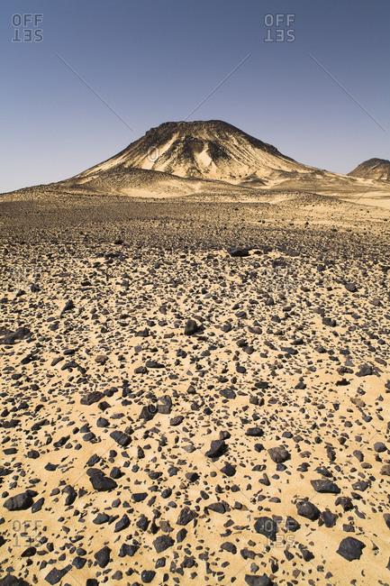 Mountain In The Black Desert