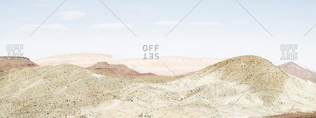 Landscape Of Sahara