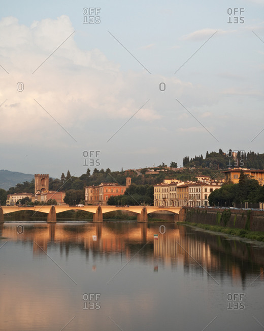 view of river arno in florence