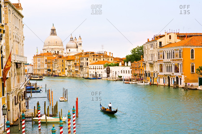 view of the Venice Grand Canal