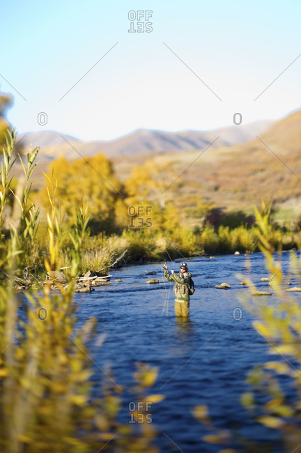 Provo stock photos offset for Provo river fly fishing