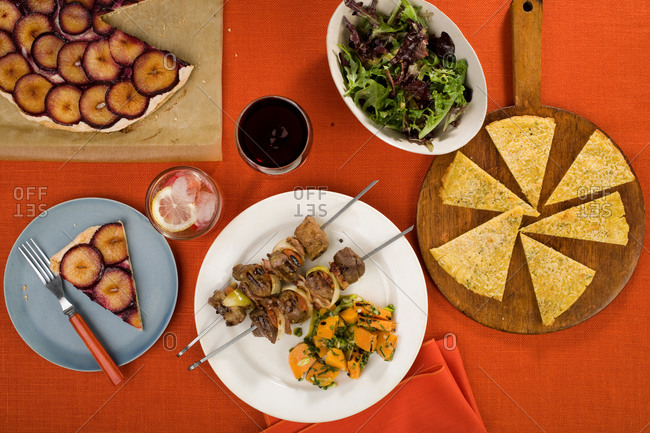 Various turkish dishes - Offset Collection