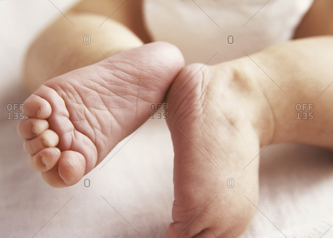 A Pair Of Baby's Feet