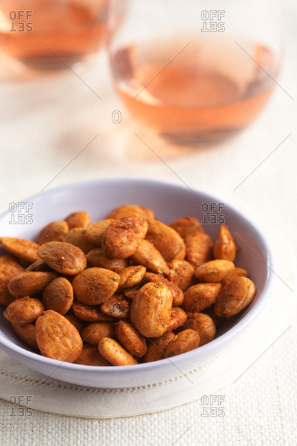 Almonds with smoked paprika