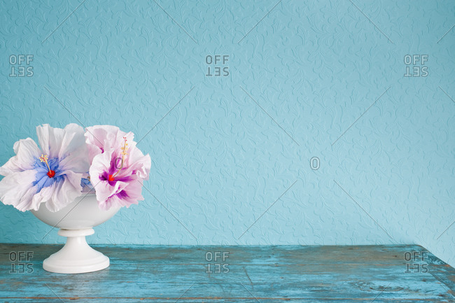 home d_cor of paper flowers