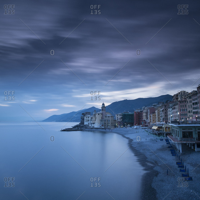 Picturesque scene of Camogli, Liguria, Italy.