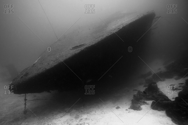 The wreckage of the Hilma Hooker