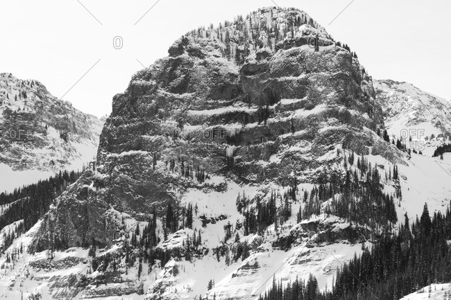 Hyalite Canyon Montana. - Offset Collection