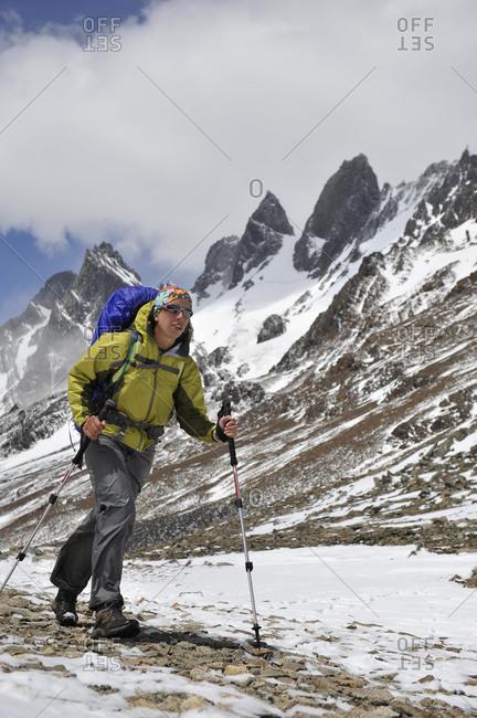 Trekking Chile.