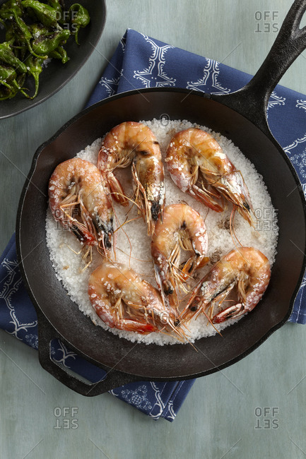 Gambas a la Placha: Grilled Shrimp Tapas