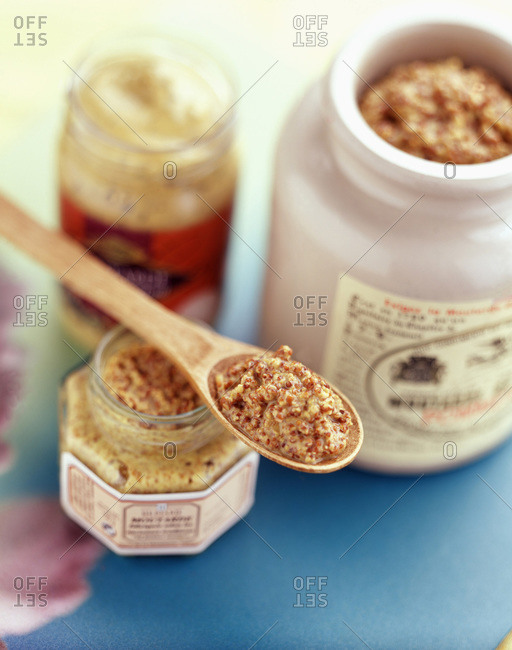 Traditional style whole grain mustard