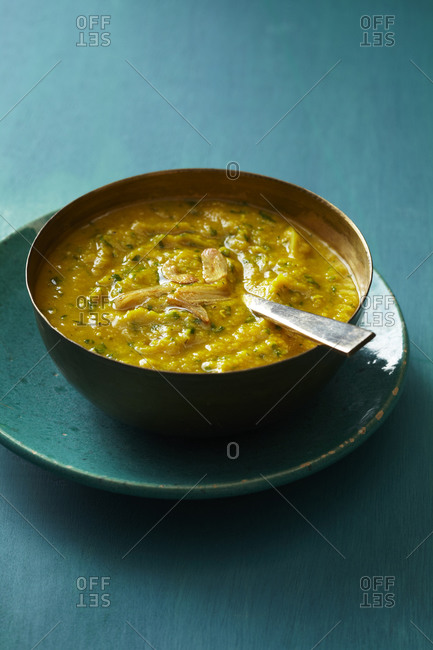 Bowl of Indian daal