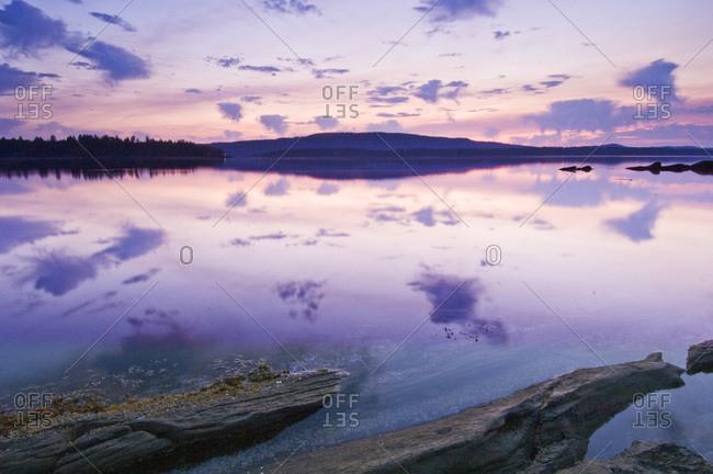 Canada, BC, Salt Spring Island, Southie Point Dawn