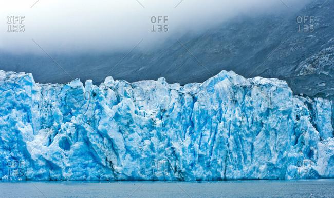 USA, Pacific Northwest, Alaska, Glacier Bay National Park. McBride Glacier.