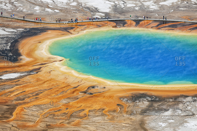 Midway Geyser Basin, Grand Prismatic Spring