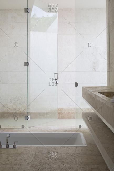 Bathroom of luxury hotel