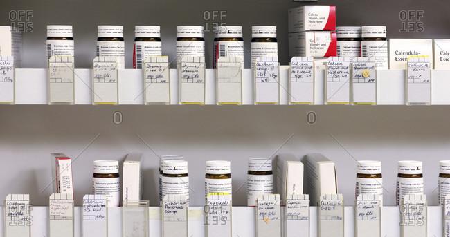 Homeopathic herbal medicine prescriptions,
