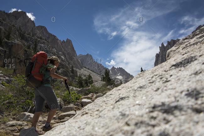 Rock Climbing Lifestyle Sierras California