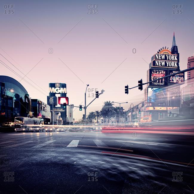 Street Scene in Las Vegas