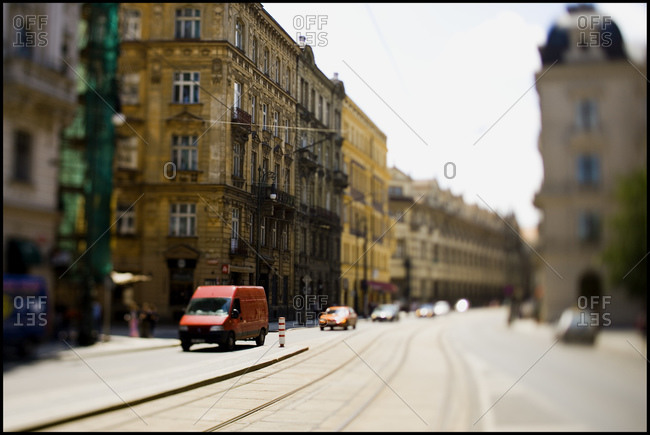 Miniature replica street