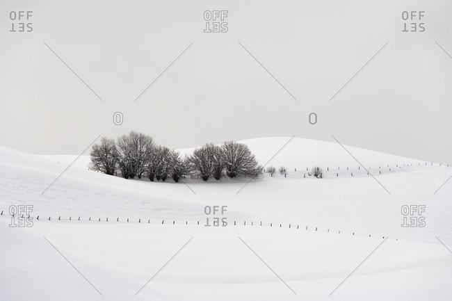 Tranquil winter scene, Austria - Offset