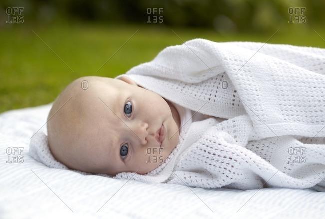 Three month old baby boy.