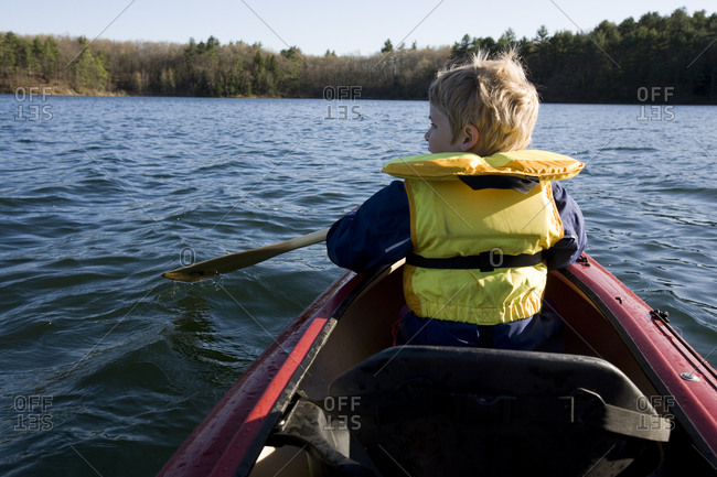 Kayaking on Walden Pond