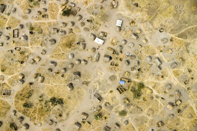 A bustling village in the Kafue River Flood Plain